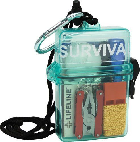 This is an essential when your adventure takes you by boat, canoe, jet ski, or your just hanging out by the lake.  The Waterproof Survival Kit is also a must have for your outdoor hiking, backpacking, and camping ventures because we have all been caught in the rain at some point.  Keep your most valuable asset dry with the Waterproof Survival Kit. The Waterproof Survival Kit contains some handy and essential items for any emergency! The waterproof container ensures that your supplies are..