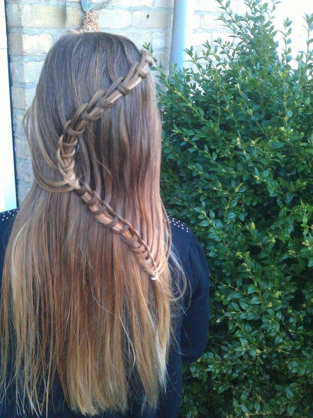Knotted snake braid #braidsforgirls #hairstylesforgirls #amazinghairstyles