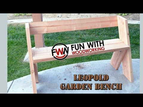 Campfire bench - YouTube
