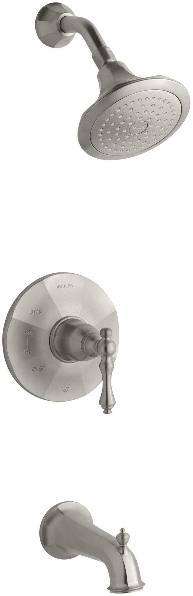 Kelston Rite-Temp Pressure-Balancing Bath and Shower Faucet Trim