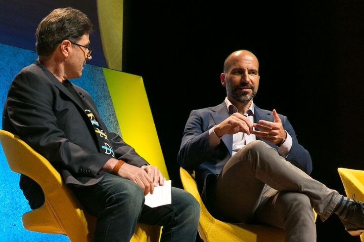 8 Insights Into Uber CEO Pick Dara Khosrowshahi From Peers and Rivals  Expedia CEO Dara Khosrowshahi speaking with Skift Executive Editor Dennis Schaal at the 2016 Skift Global Forum. Skift  Skift Take: With a two-decade track record in online travel Khosrowshahi has had his duck-and cover as well as been-on-a mountaintop moments. If Uber's looking for a steady hand and a guy with experience who isn't afraid to take a U-turn when called for then they could have done a helluva lot worse…