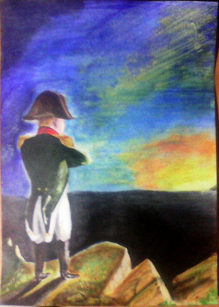 "Acrylic Copy of  ""Napoleon Bonaparte"" by Benjamin Robert Haydon"
