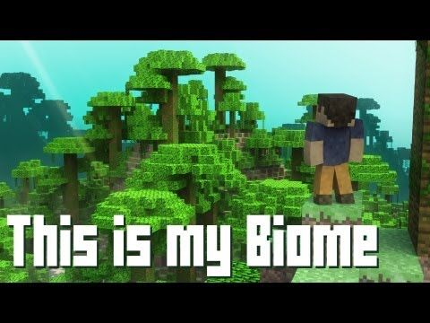 """lmao! """"This is my Biome"""" - A Minecraft Parody of Payphone (Music Video) by BebopVox on youtube"""
