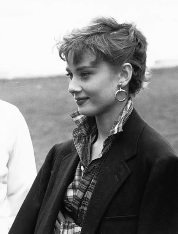 Audrey Hepburn photographed by Dennis Stock during the filming of Sabrina in Long Island, New York, 1954.