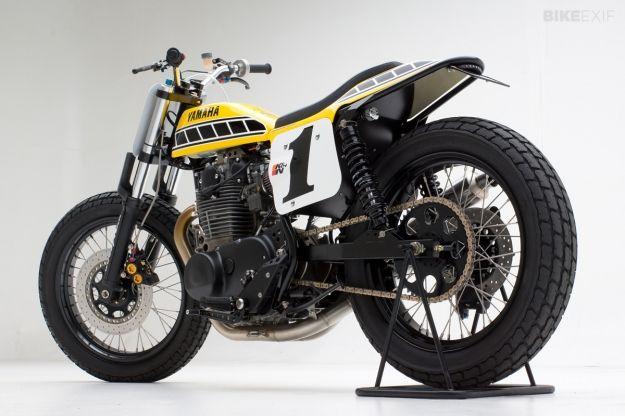 Yamaha dirt tracker by Jeff Palhegyi   Bike EXIF