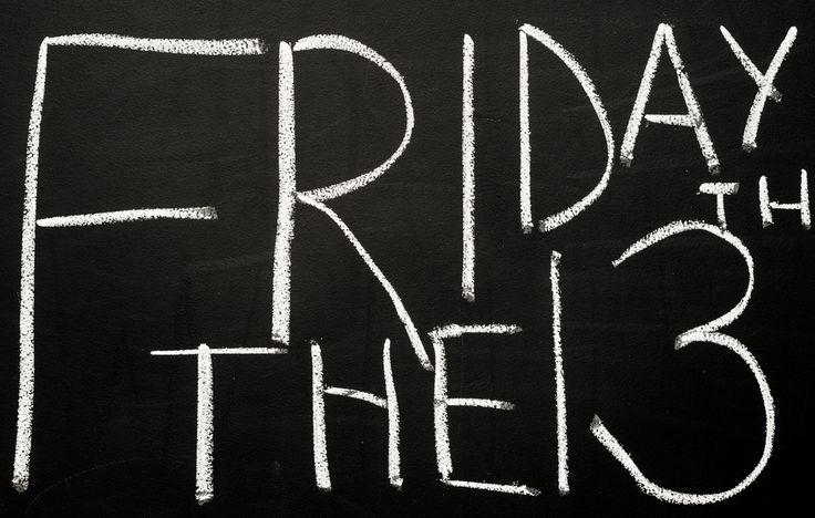 Friday the 13th ....Would having a therapy or hospital appointment on Friday 13th send you in to a tailspin? Or did you not even realise which day it was? Perhaps, you're just relieved to be making it to an appointment on time!  Friday 13th is widely considered to be unlucky, but it's not actually known for certain how the superstition surrounding this day arose.   What does it actually mean to be superstitious?