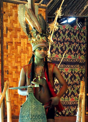 Kadazan Warrior, Sabah, Malaysia    The Kadazans are an ethnic group indigenous to the state of Sabah in Malaysia. They are found mainly on the west coast of Sabah, the surrounding locales, and various locations in the interior