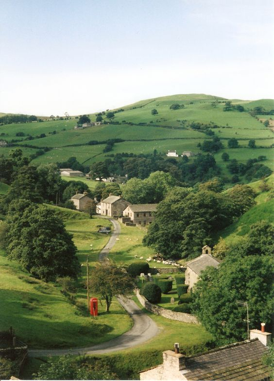 The Howgill Fells are hills in Northern England between the Lake District and the Yorkshire Dales, lying roughly in between the vertices of a triangle made by the towns of Sedbergh, Kirkby Stephen and Tebay. The name Howgill derives from the Old Norse word haugr meaning a hill or barrow, plus gil meaning a narrow valley.: