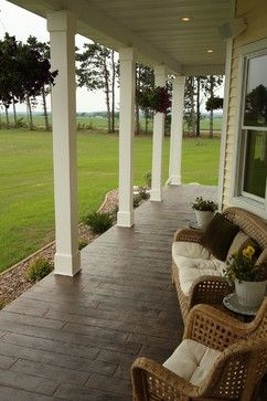 Stamped Concrete Wood Design Ideas, Pictures, Remodel, and Decor