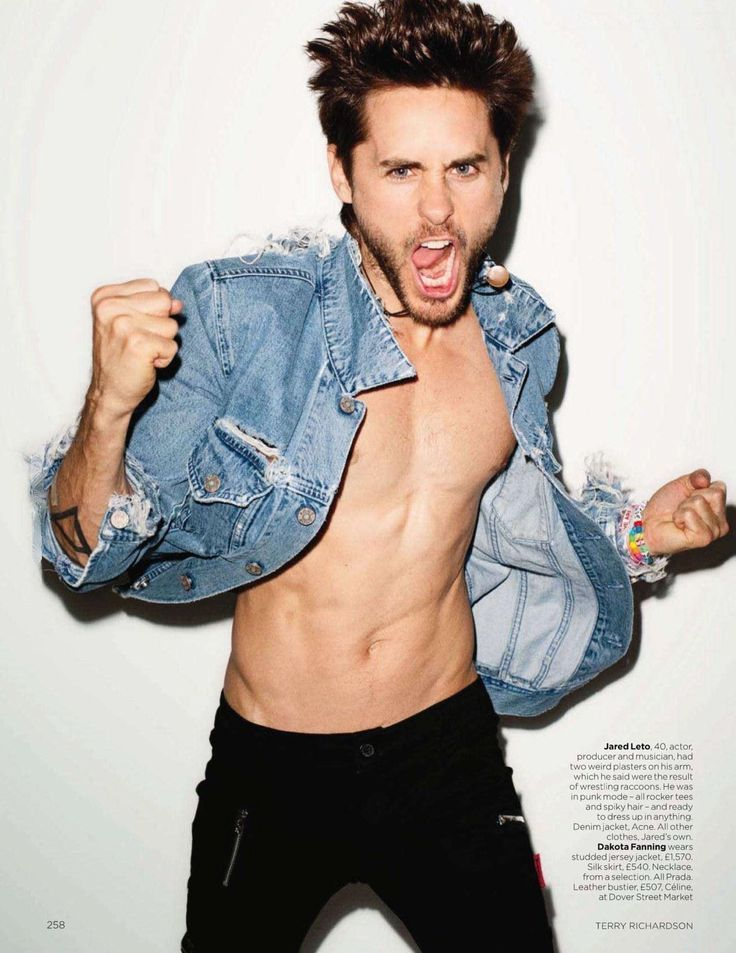 30 Seconds To Mars Jared Leto Abs Images, High-Quality Pictures - Imagepo.com