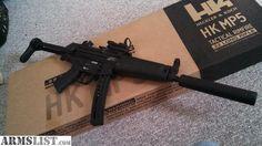 For Sale:  HK MP5 .22 LR