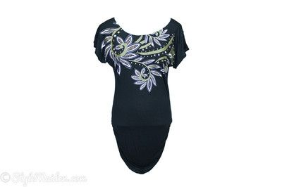 BECCA BY REBECCA VIRTUE Tunic Cover-up Size M-L