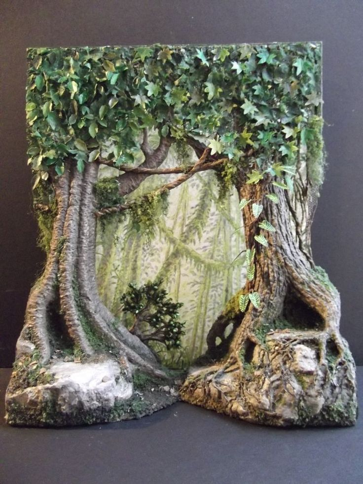 Creating Three-Dimensional Foliage Scenery = The Most Fun You'll Ever Have…