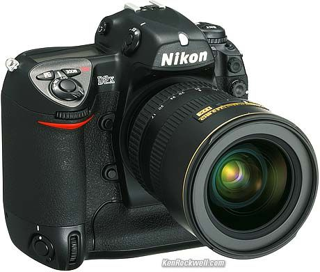 Nikon D2X---2004