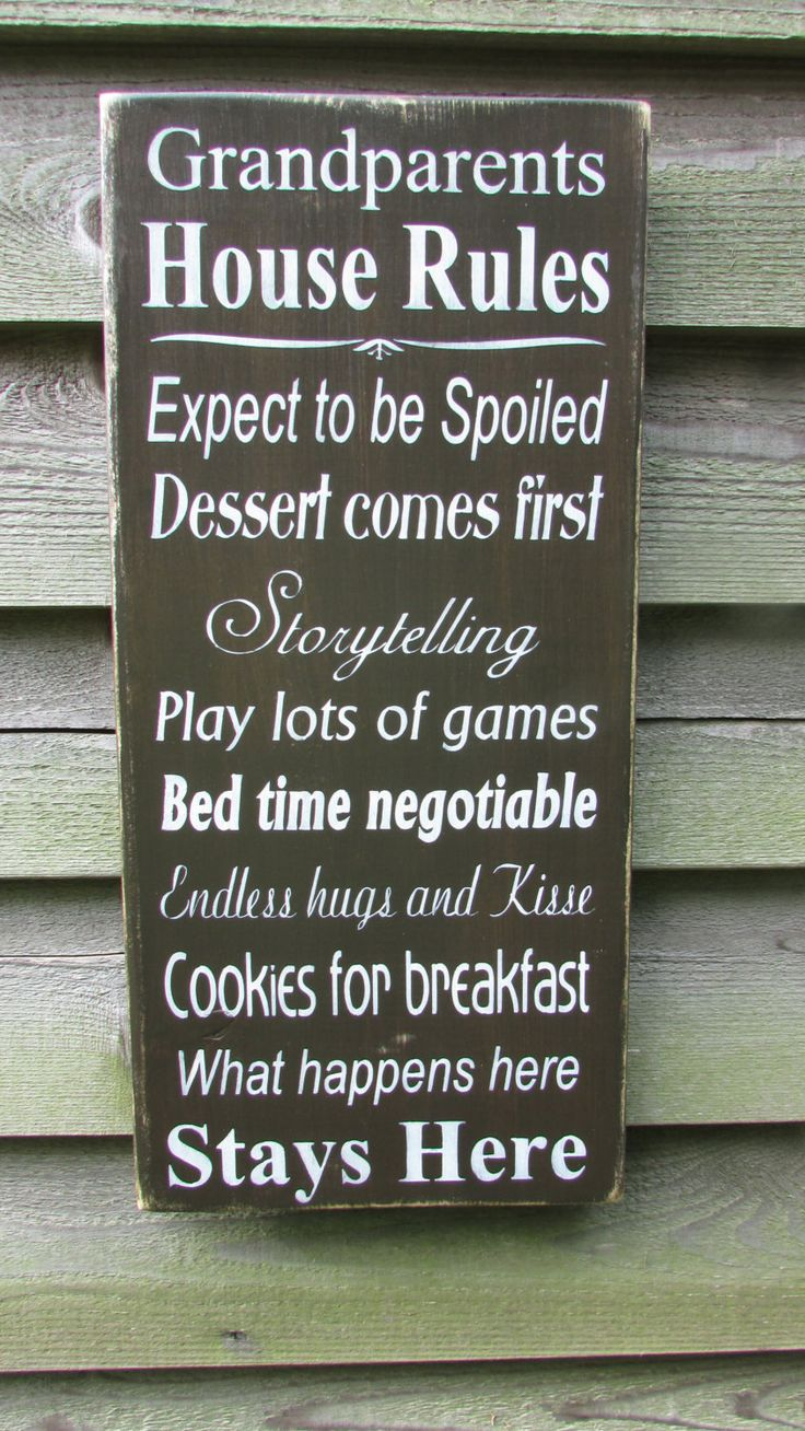 Kitchen Signs House Rules