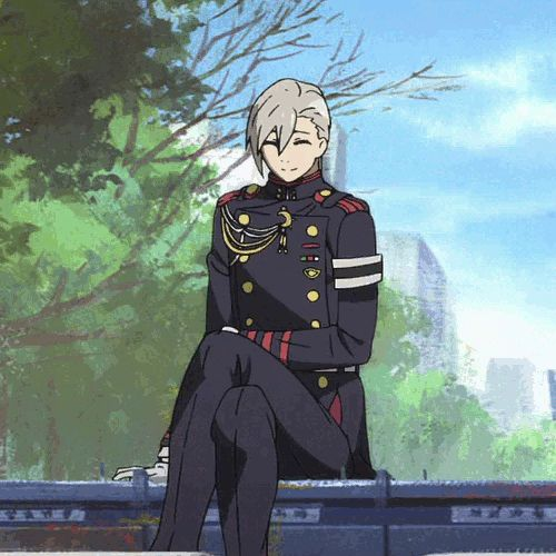 Owari no Seraph / Seraph of the End (gif)