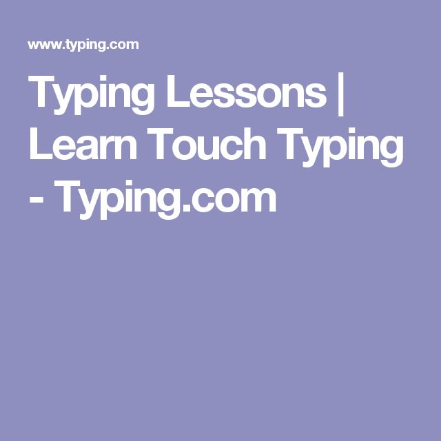 learn how to touch typetouch typing Take typing test, practice typing lessons  take typing speed test, practice your touch typing skills, learn to type faster and with fewer errors with this free online.