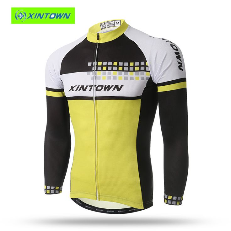 Pro cycling jersey XINTOWN Ciclismo Long Sleeve Cycling Jersey Spring Quick-dry Clothing Maillots De Cyclisme 2016 MTB Equipment #Affiliate