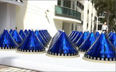 V3Solar's spinning photovoltaic cones have been able to generate 20 times more energy than traditional static, flat solar panels.