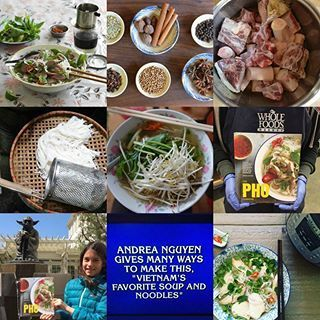 """Thanks for making 2017 pho-nomenal! If you missed any of this year's pho-related recipes (e.g., Instant Pot pho, turkey pho, homemade hoisin), cooking tips (e.g., how to find good beef bones and pho noodles, blending pho spices), or family stories, I just put them all in one post called """"The Year in Pho"""" 👈 my alternative to the yearly roundup of popular recipes/posts. Check them out and bookmark the page via my profile link! . . . . #thephocookbook #homemadepho #vietnamesecooking #phoga…"""