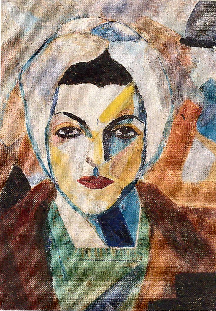 Saloua Raouda Choucair - Self Portrait