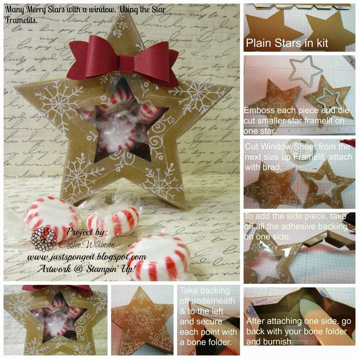Just Sponge It: Many Merry Stars with a Twist!