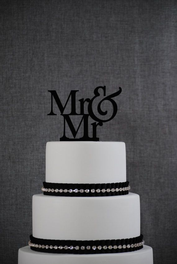 Custom Mr And Cake Topper Commitment Ceremony Q Wedding Decor Mens Engagement T002