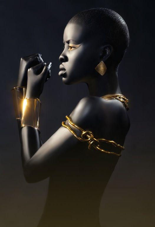 Ebony and Gold