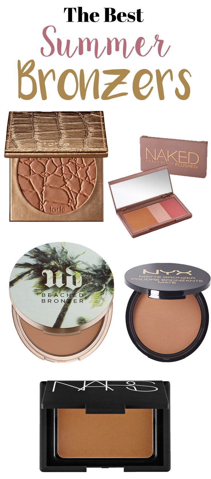The Best Bronzers you need for this summer season!