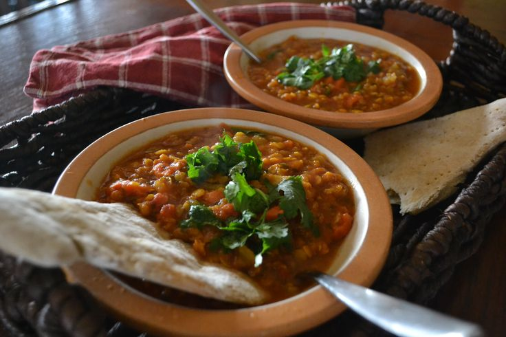 Moroccan Lentil Soup | Watching my blood sugar | Pinterest