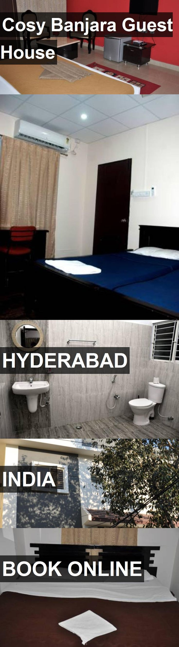 Cosy Banjara Guest House in Hyderabad, India. For more information, photos, reviews and best prices please follow the link. #India #Hyderabad #travel #vacation #guesthouse