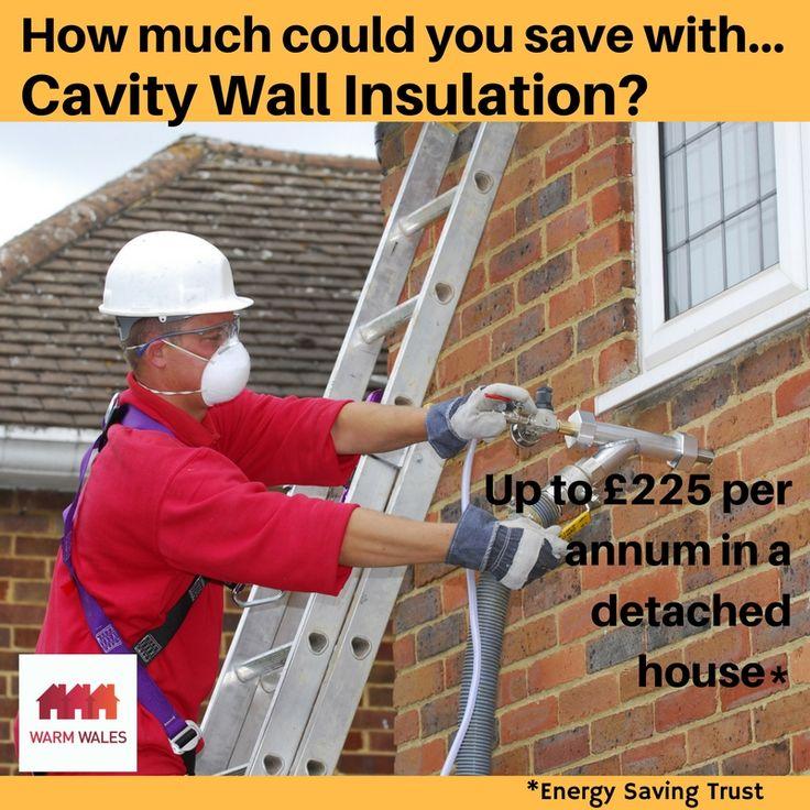 Cavity wall insulation savings
