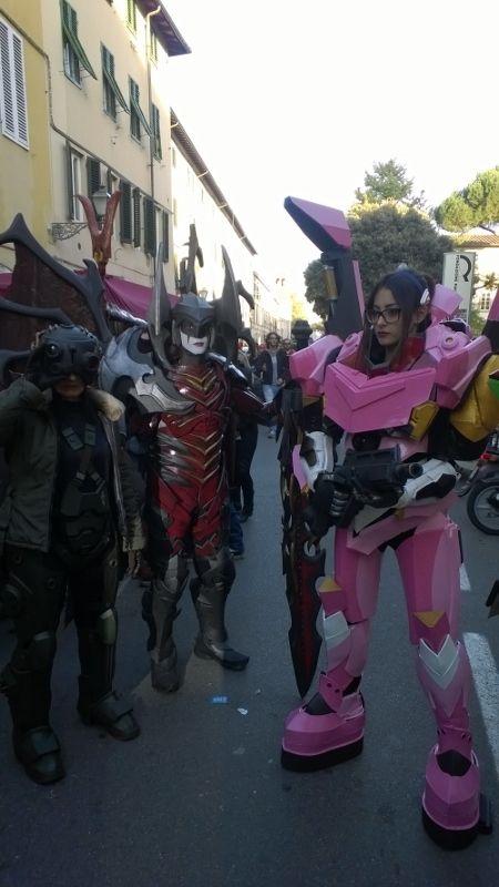 cosplay op Lucca comics