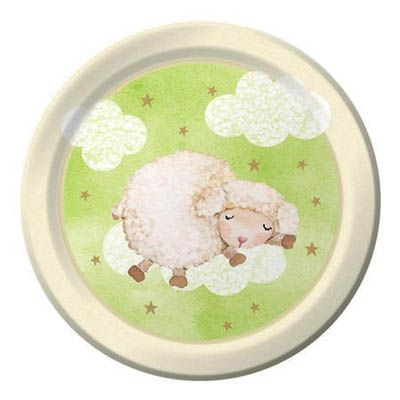 Baa Baa Baby Shower Party Supplies for a Lamb baby shower! Super cute