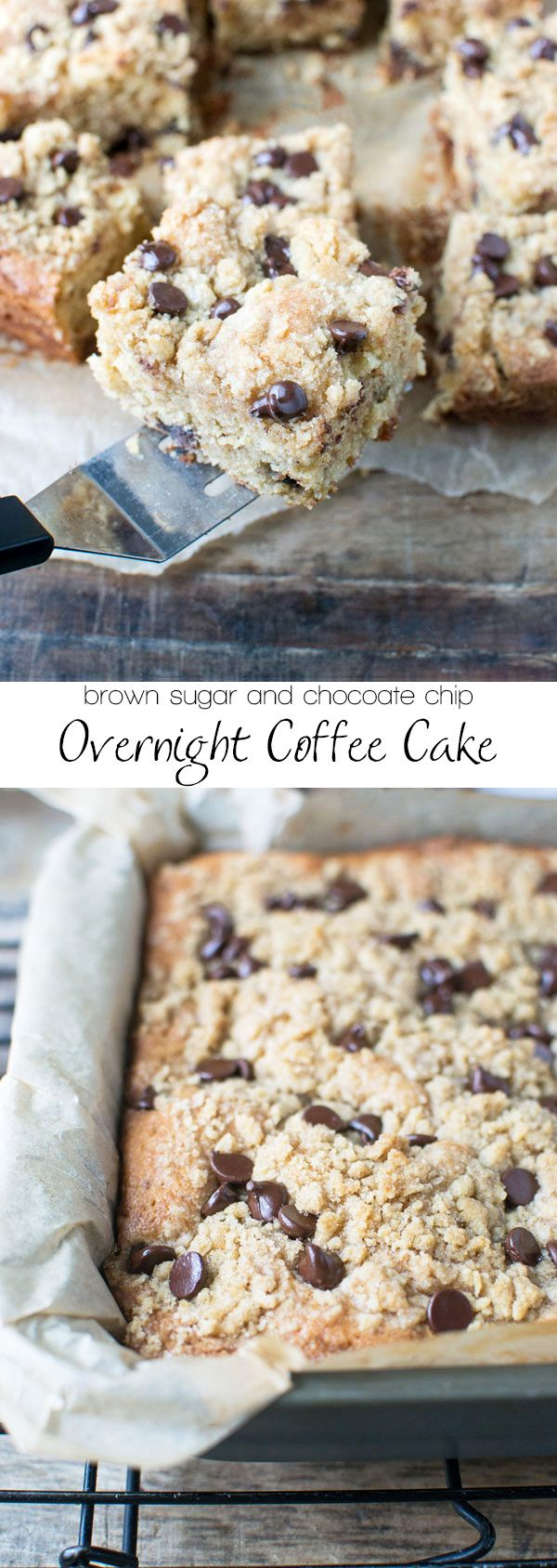 Chocolate Chip Coffee Cake with Streusel Topping