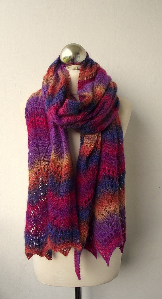 #knitted #scarf