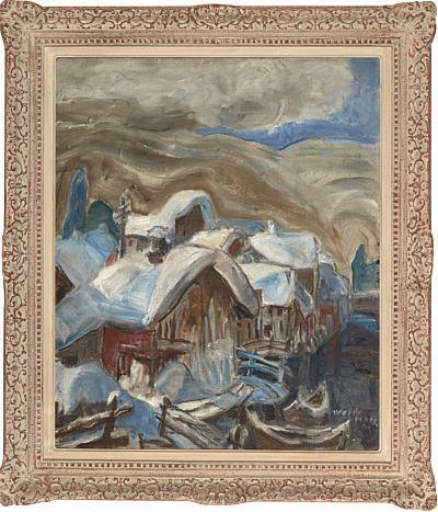Vinter av Jacob Weidemann