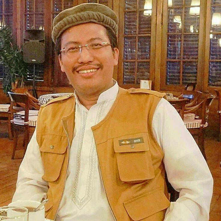 Sahat Simarmata wearing Taliban costume