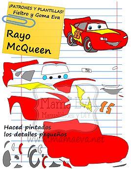 Plantillas Películas Disney Cars