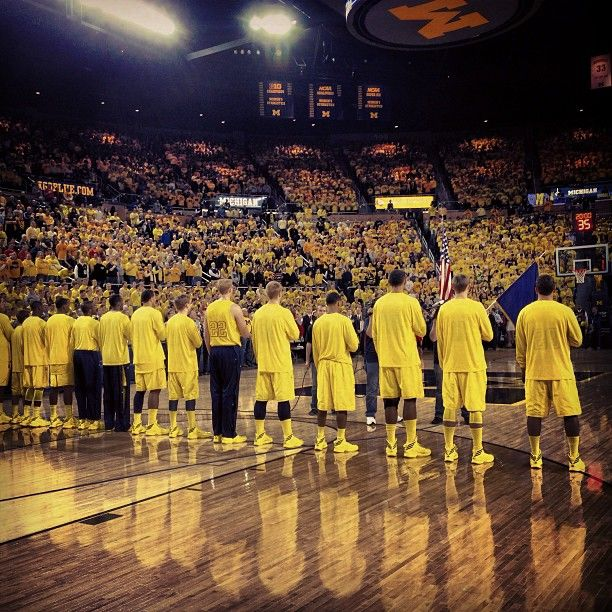 Here we go! Michigan Men's Basketball vs OSU #GoBlue #WEON #ESPN1Day1Game