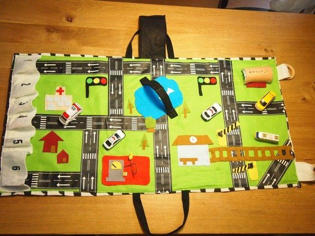 ハンドメイド 100均材料でお手軽 収納 遊びが1つになった便利なプレイバッグを作ってみました ハンドメイド ベビー ハンドメイド おもちゃ 手作りおもちゃ