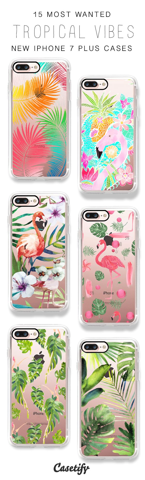 Feel the tropical vibes! 15 Most Wanted Tropical iPhone 7 Cases and iPhone 7 Plus Cases here > https://www.casetify.com/artworks/TaKdOGyHms