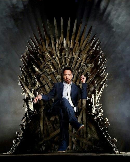 Finally a Stark worthy of the Iron Throne Game of Thrones #got #gameofthrones #juegodetronos