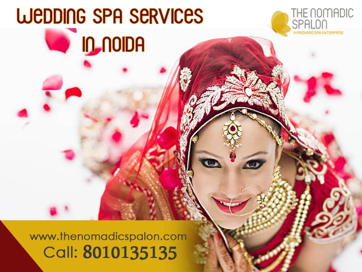 Get your wedding Spa Service at your #home with #TheNomadicSpalon !! The Nomadic Spalon now serving all over #NCR! why step out when you can have your #spa and #salon come home with Exciting prices & #offers! Just call at 8010135135 and fix your appointment at your home for your time and convenience. www.thenomadicspalon.com