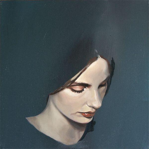"Richard ""Rico"" White || Portrait 1 // Oil on canvas 16"" x 16"""