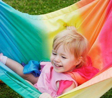 Pure Silk Blanket - Rainbow