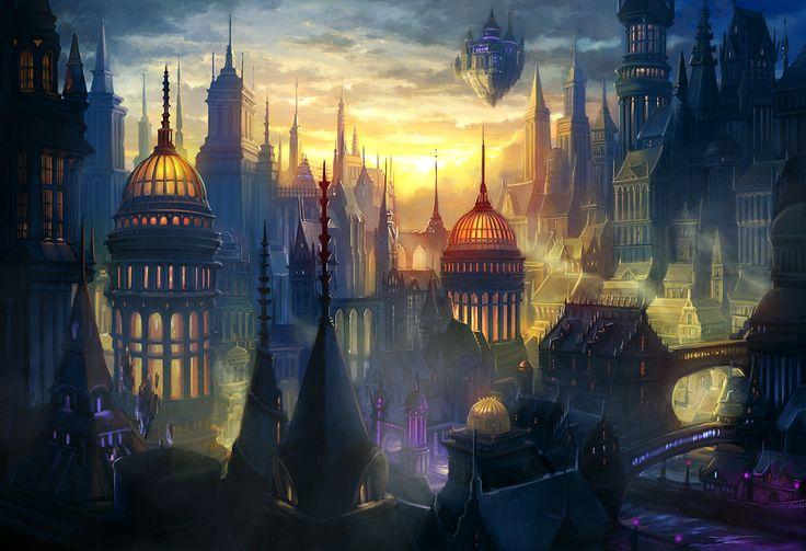 Magic City of Vane by Alayna on DeviantArt