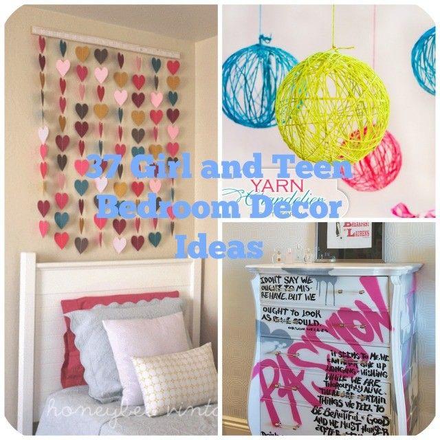 37 diy ideas for teenage girl s room decor cute room decor rh pinterest com
