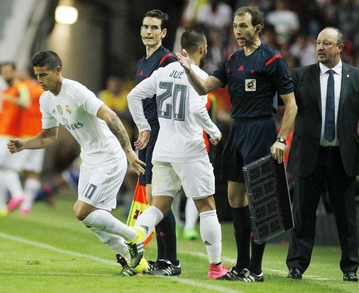 James huele a suplente en la Real Madrid