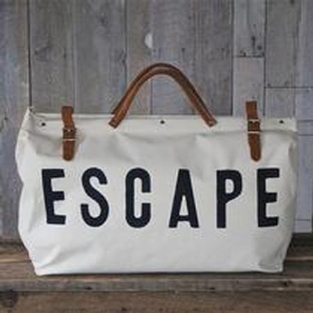 Escape Canvas Utility Bag